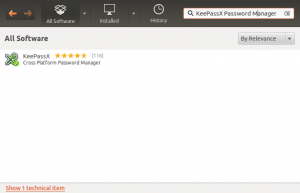 Keep your passwords together and safe with KeePassX