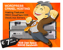 wordpress optimized cpanel cloud linux hosting with content delivery network cdn