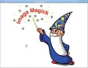 Using touch and imagemagick To create PDF files