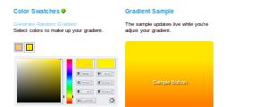 CSS3 Background Gradient Generator